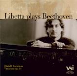 BEETHOVEN - Libetta - Six variations sur un thème original op.34