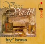Viva Verdi ! - Ouvertures arrangées pour ensemble de cuivres
