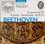 BEETHOVEN - Talich Quartet - Quatuor à cordes n°13 op.130