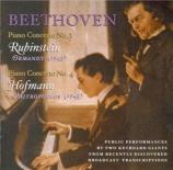 BEETHOVEN - Rubinstein - Concerto pour piano n°3 en ut mineur op.37