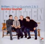 BRITTEN - Brodsky Quartet - Quatuor à cordes n°2 en do majeur op.36
