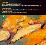 LALO - Paray - Symphonie espagnole op.21