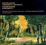 DUTILLEUX - Munch - Symphonie n°2 'Le double'