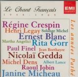 Le chant français : Les années Pathé 1948-1965