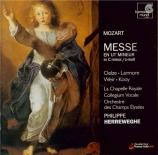 MOZART - Herreweghe - Messe en ut mineur, pour solistes, chœur et orches
