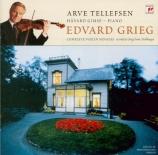 GRIEG - Tellefsen - Sonate pour violon et piano n°3 en do mineur op.45