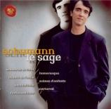 SCHUMANN - Le Sage - Waldszenen (Scènes de la forêt), pour piano op.82