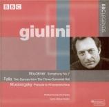 BRUCKNER - Giulini - Symphonie n°7 en mi majeur WAB 107