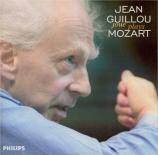MOZART - Guillou - Adagio et fugue pour quatuor à cordes en do mineur K Transcriptions pour orgue