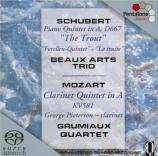 SCHUBERT - Beaux Arts Trio - Quintette avec piano en la majeur op.posth
