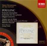 POULENC - Poulenc - Concert champêtre, pour clavecin et orchestre FP.049