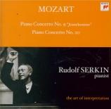MOZART - Serkin - Concerto pour piano et orchestre n°9 en mi bémol majeu