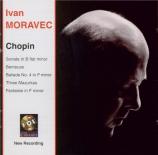 CHOPIN - Moravec - Sonate pour piano n°2 en si bémol mineur op.35