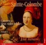 Concerts à deux violes égales Vol.1 : concerts I à XVIII