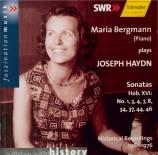 HAYDN - Bergmann - Sonate pour clavier en sol majeur Hob.XVI:8