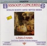 DANZI - Hara - Concerto pour basson en fa majeur
