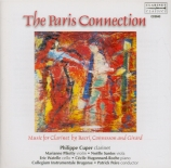 The Paris Connection : oeuvres pour clarinette