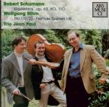 SCHUMANN - Trio Jean Paul - Trio avec piano n°1 op.63