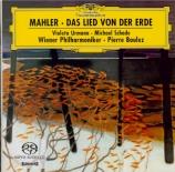 MAHLER - Boulez - Das Lied von der Erde (Le chant de la terre), pour tén