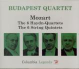 MOZART - Budapest String - Quatuor à cordes n°14 en sol majeur K.387