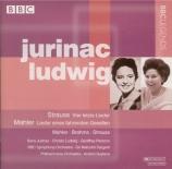 STRAUSS - Jurinac - Vier letzte Lieder (Quatre derniers lieder), pour so