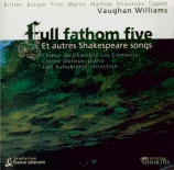 Full Fathom Five et autres Shakespeare Songs