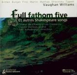 Full Fathom Five et autres Shakespeare Songs
