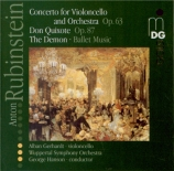 RUBINSTEIN - Hanson - Concerto pour violoncelle n°2 op.96