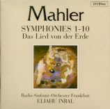 MAHLER - Inbal - Symphonies (intégrale)
