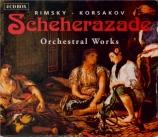 RIMSKY-KORSAKOV - Tjeknavorian - Shéhérazade op.35