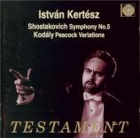 CHOSTAKOVITCH - Kertesz - Symphonie n°5 op.47
