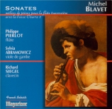 BLAVET - Pierlot - Sonate pour flûte op.2 n°2 'La Vibray'