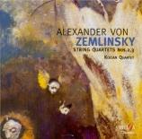 ZEMLINSKY - Kocian Quartet - Quatuor à cordes n°2 op.15