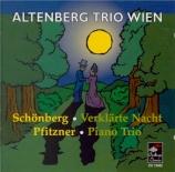 PFITZNER - Altenberg Trio - Trio pour piano, violon et violoncelle op.8