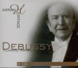 DEBUSSY - Arrau - Préludes I, pour piano L.117