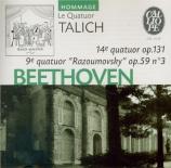 BEETHOVEN - Talich Quartet - Quatuor à cordes n°14 op.131