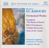 EL KHOURY - Sirenko - Symphonie op.37 'Les ruines de Beyrouth'
