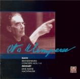 BACH - Klemperer - Concertos brandebourgeois BWV 1046-1051