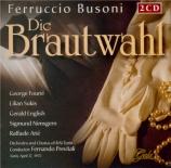 BUSONI - Previtali - Die Brautwahl