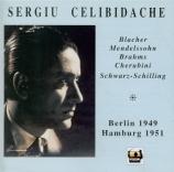 BLACHER - Celibidache - Variations pour orchestre sur un thème de Pagani