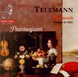 TELEMANN - Florilegium Ens - Ouverture pour deux flûtes traversières, co