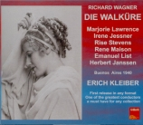 WAGNER - Kleiber - Die Walküre (La Walkyrie) WWV.86b Live Buenos Aires 1940