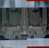 NIVERS - Schoonbroodt - Troisième Livre d'orgue ; suites des 1er, 2è et