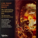 BACH - Kuijken - Auferstehung und Himmelfahrt Jesu, oratorio Wq.240 (H.7