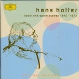 Lieder et airs d'opéras