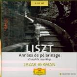 LISZT - Berman - Années de pèlerinage : intégrale