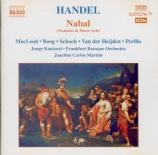 HAENDEL - Martini - Nabal, opéra pastiche