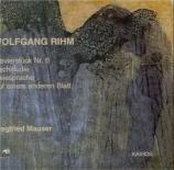 RIHM - Mauser - Klavierstück n°6 'Bagatellen'