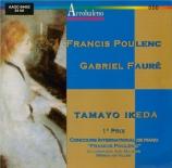 FAURE - Ikeda - Trois romances sans paroles pour piano op.17