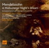MENDELSSOHN-BARTHOLDY - Nelson - Ein Sommernachtstraum (Le songe d'une n